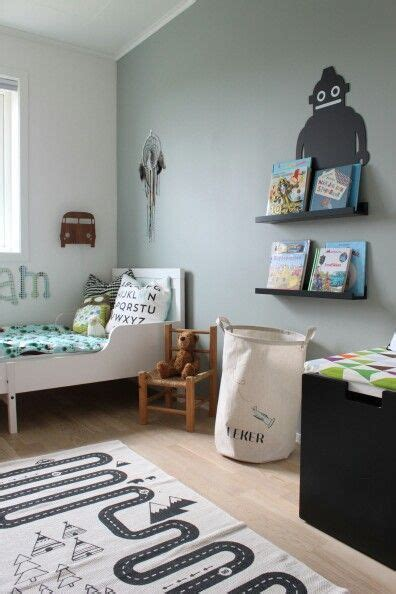 wall painted  jotuns minty breeze kids rooms