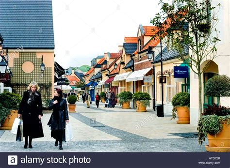 quot val d europe quot luxury discount products factory outlet stock photo royalty free