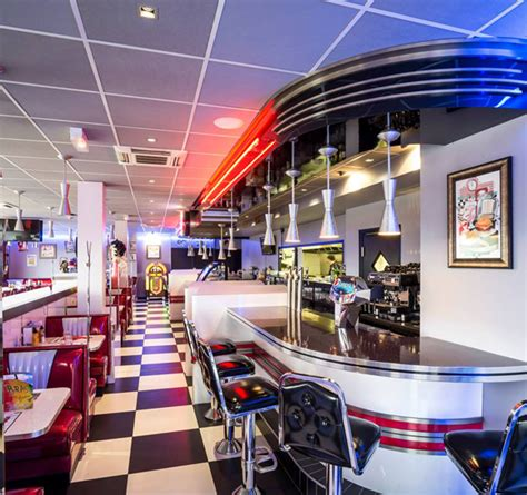 Classic Diner American 50's Style Diner In France Diner