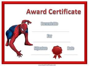 Free Printable Award Certificate Templates Kids
