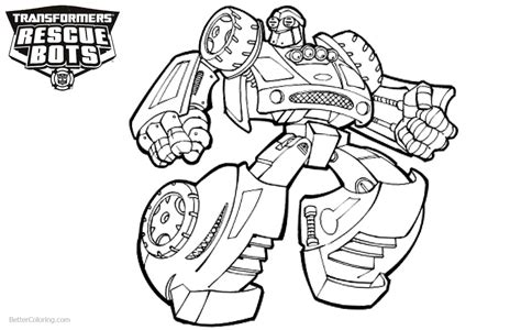 transformers rescue bots coloring pages  drawing