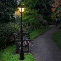 Solar Lamp Posts For Driveways by Solar Patio Lights An Inexpensive Way To Brighten Up