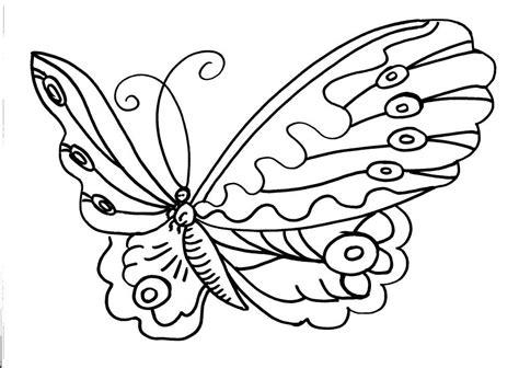 disegni da colorare grandi una farfalla con grandi ali disegno da colorare per