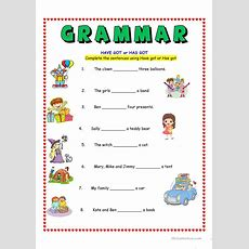 Have Got Or Has Got Worksheet  Free Esl Printable Worksheets Made By Teachers