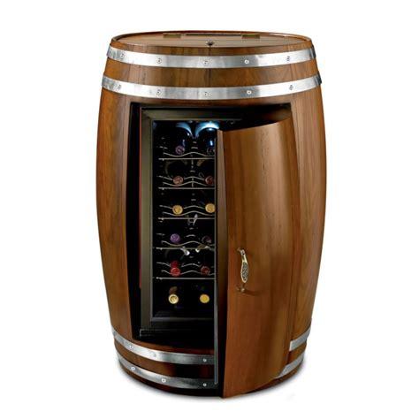 wine barrel refrigerator the green