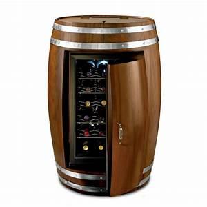 Wine Barrel Refrigerator - The Green Head