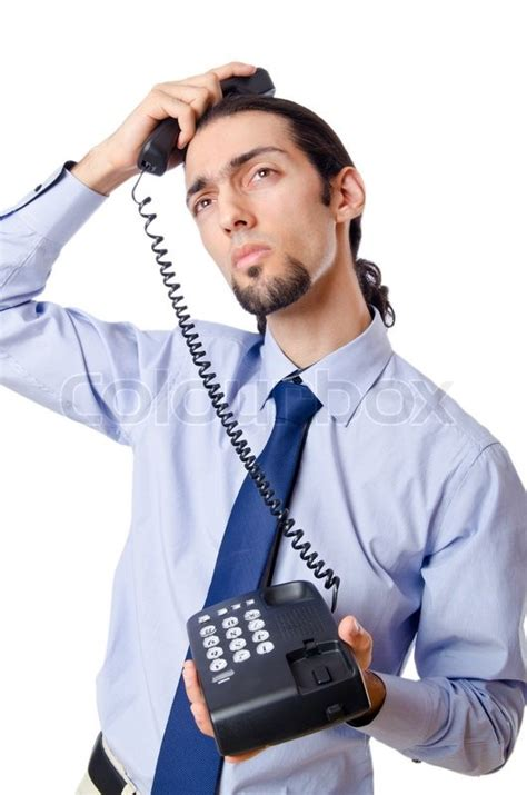 12256 angry businessman stock photo angry businessman on the phone stock photo colourbox