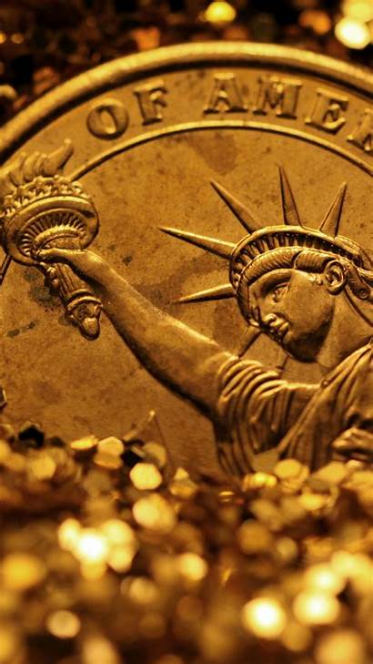 Coin Galaxy Luxury Wallpapers Gold Samsung S4