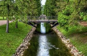 Wallpaper, Bridge, Pond, Park, Tree, Hdr, Saint, Petersburg, Park, Bridges, St, Petersburg, Images