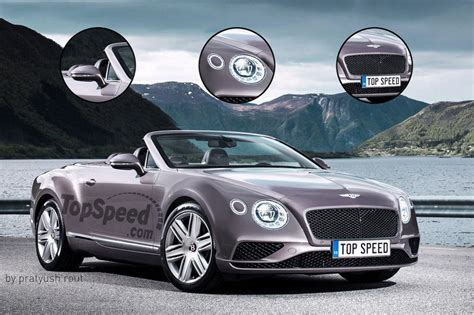 Bentley Rotating Display The Continental Will Have