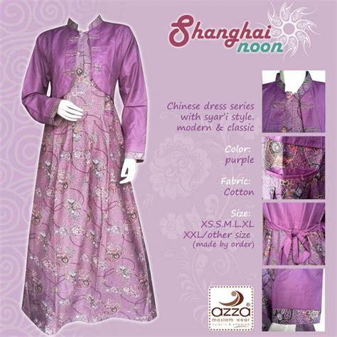 Jual Gamis Batik Shanghainoon  Edomukti Hijab House