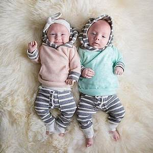 2pcs/set Newborn Toddler Baby Girls Boy Clothes set Winter ...