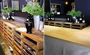 Bar Aus Holzpaletten : 101 diy m bel aus europaletten coole bastelideen f r sie ~ Sanjose-hotels-ca.com Haus und Dekorationen