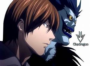 Light Yagami and Ryuk - Death Note - Render by Obedragon ...