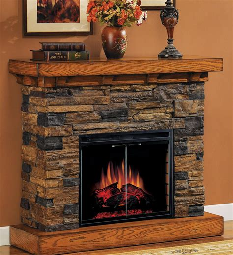 Classic Flame™ Flagstone Electric Fireplace 175732
