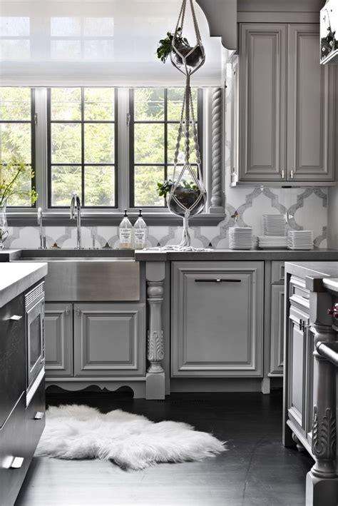 grey kitchen cabinets design ideas  grey