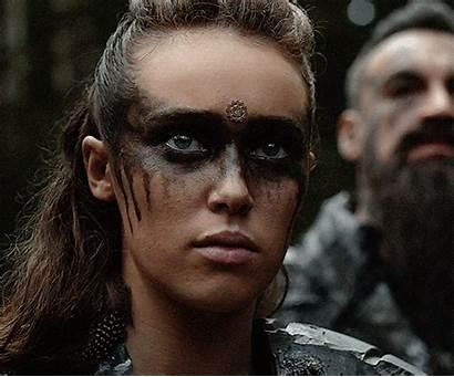 Lexa Makeup Alycia Debnam Carey Face War