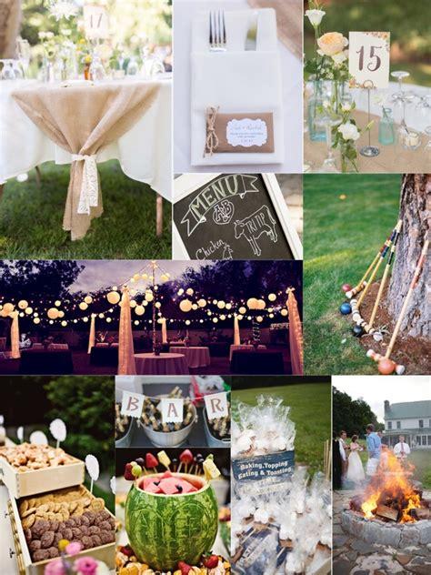 essential guide   backyard wedding   budget