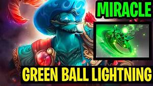 New Green Immortal - Miracle- Storm Spirit - Dota 2 - YouTube