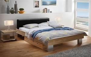 Graues Sofa Welche Wandfarbe : lederbett modern schlafzimmer ~ Bigdaddyawards.com Haus und Dekorationen