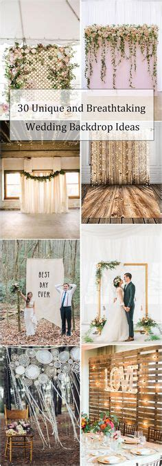 100 Amazing Wedding Backdrop Ideas Country Weddings