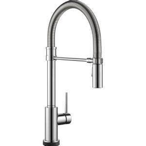 delta trinsic pro single handle pull down sprayer kitchen