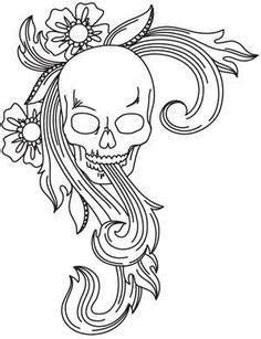 Image result for printable leather tooling patterns | Leather tooling patterns, Skull coloring