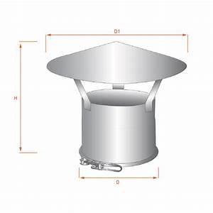 Tubage Inox Double Paroi 150 : chapeau chinois double paroi r novation 150 200 trachemin e ~ Premium-room.com Idées de Décoration