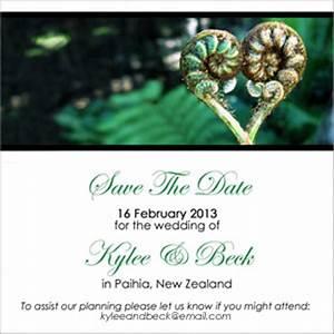 kiwiana wedding invite showing new zealand nature With wedding invitation cards new zealand