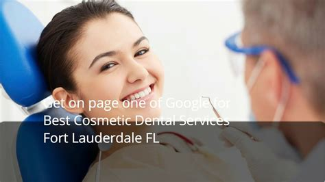 cosmetic dental services fort lauderdale fl youtube