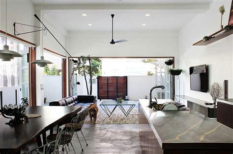 terrace house turned   modern family residence