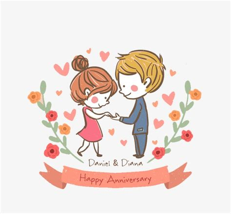 anniversary clipart lovely couple anniversary lovely