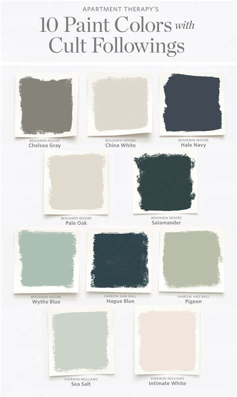10 paint colors with cult followings tedhouse stuff