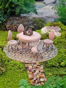 Fairy Garden Supplies  Fairy Garden Furniture Patio Set