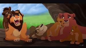 Kovu and Kiara's Cubs!! (Lion King 2) - YouTube