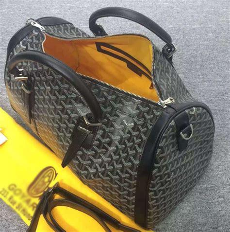 goyard duffle bag grey china haul
