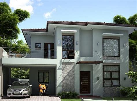 gambar desain rumah eropa minimalis dua lantai rumah