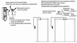 Door Contact Wiring  U0026 Eol In Series Diynot Forums Sc 1 St