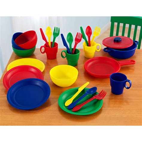 Walmart Outdoor Dining Sets by Kidkraft 27 Piece Primary Kitchen Playset 63127 Play