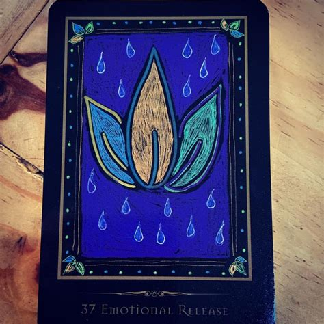 We did not find results for: March 25 - Shamanic Healing Oracle Card 37 - Emotional Release We all want to be strong. As ...