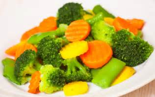 Cooked Mixed Vegetables