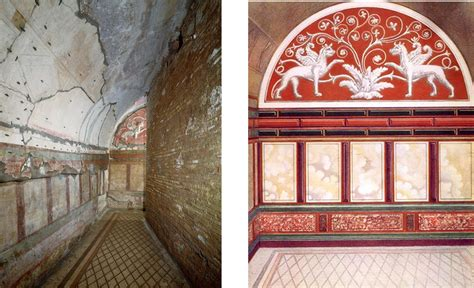habitats  herculaneum  early roman interior decoration