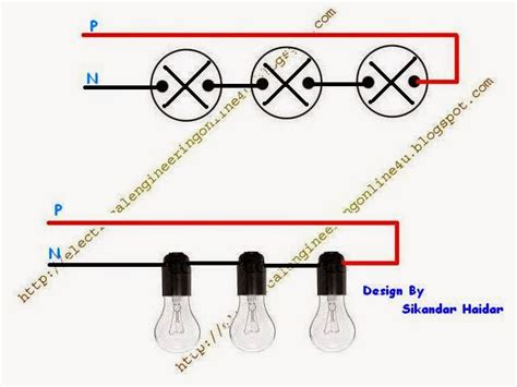 Method Wiring Lights Series With Diagram