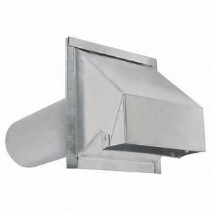 sortie de ventilation murale en acier galvanise r2 rona With sortie exterieur hotte de cuisine