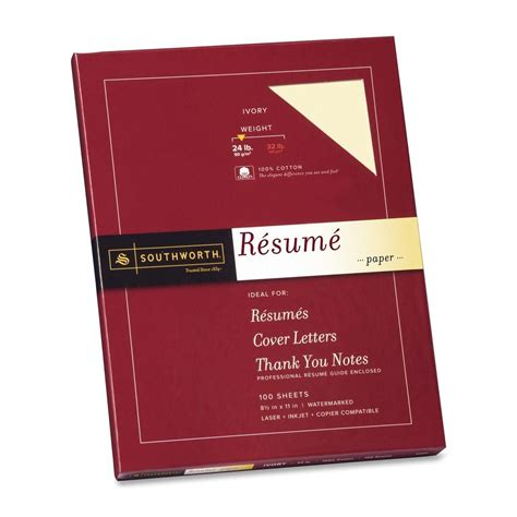 southworth resume paper ld products