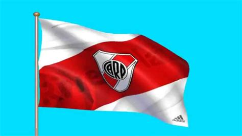River Plate bandera - futbol chroma key green screen - YouTube