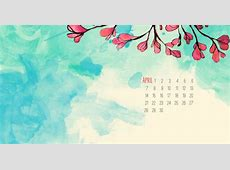 April 2018 Calendar Wallpaper For Background Calendar