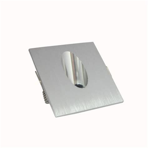 1w square aluminum led corner wall light impaction