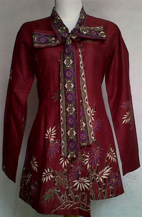 dress batik modern baju batik wanita