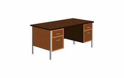 Clipart Desk Office Bureau Clip Vector Clipartpanda